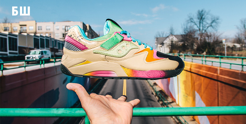 Saucony Grid 9000 x Shoe Gallery