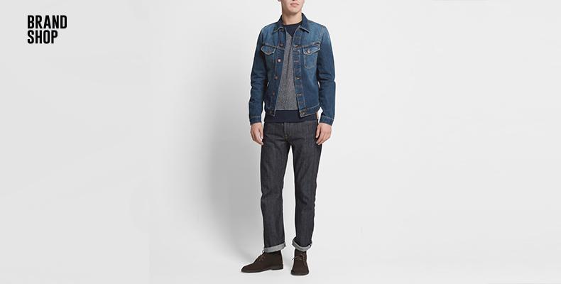 Прямые джинсы Edwin 39
