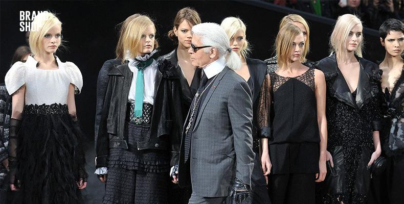 Громкое имя Karl Lagerfeld