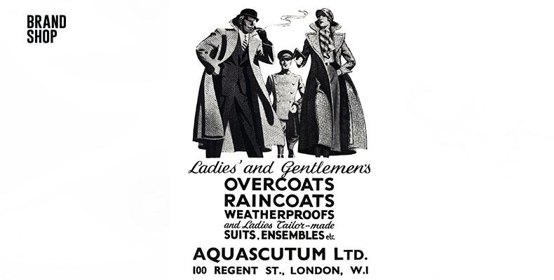 Плащи Aquascutum во время войны