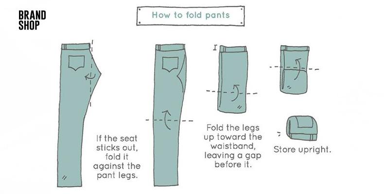Простые правила хранения джинсов