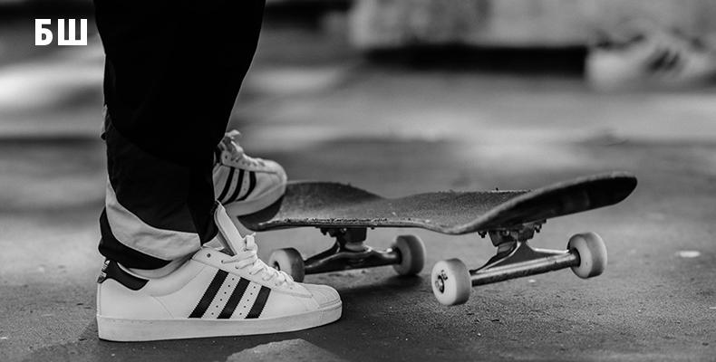 adidas Originals Superstar и скейтбординг