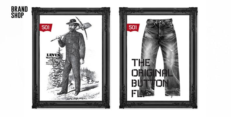 Рождение синих джинсов Levis