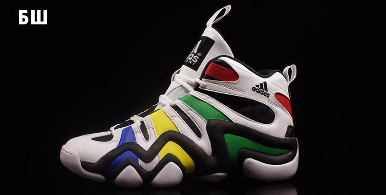 2b3c7a03 До 2015 adidas продолжал выпускать новые модели классических «Крейзи 8».  При этом сохранялся акцент на баскетбол — многие расцветки символизировали  команды ...