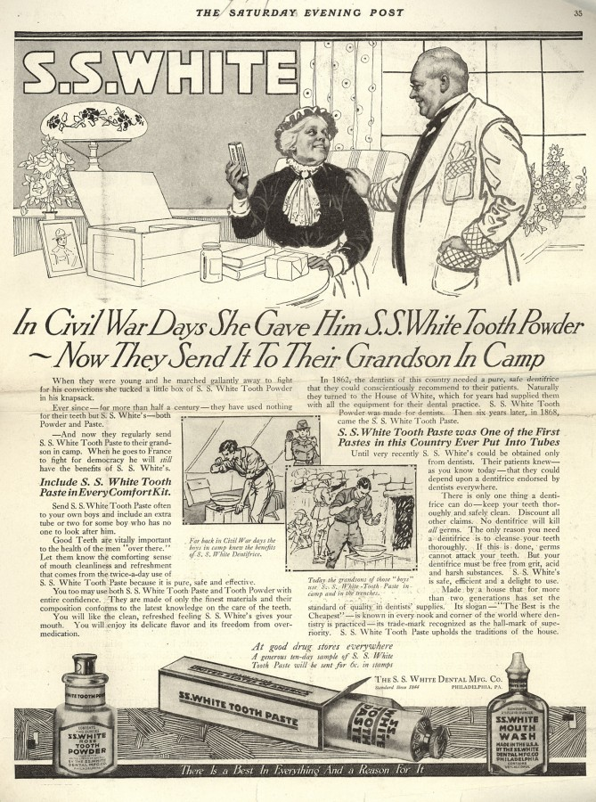 1918-Tooth Powder