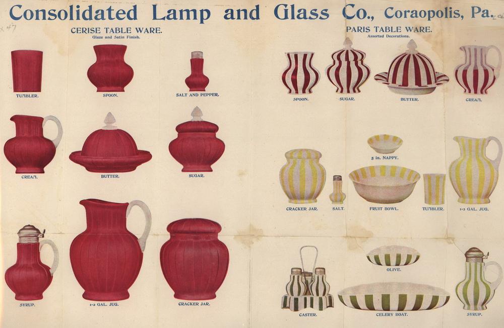 1895-Glassware