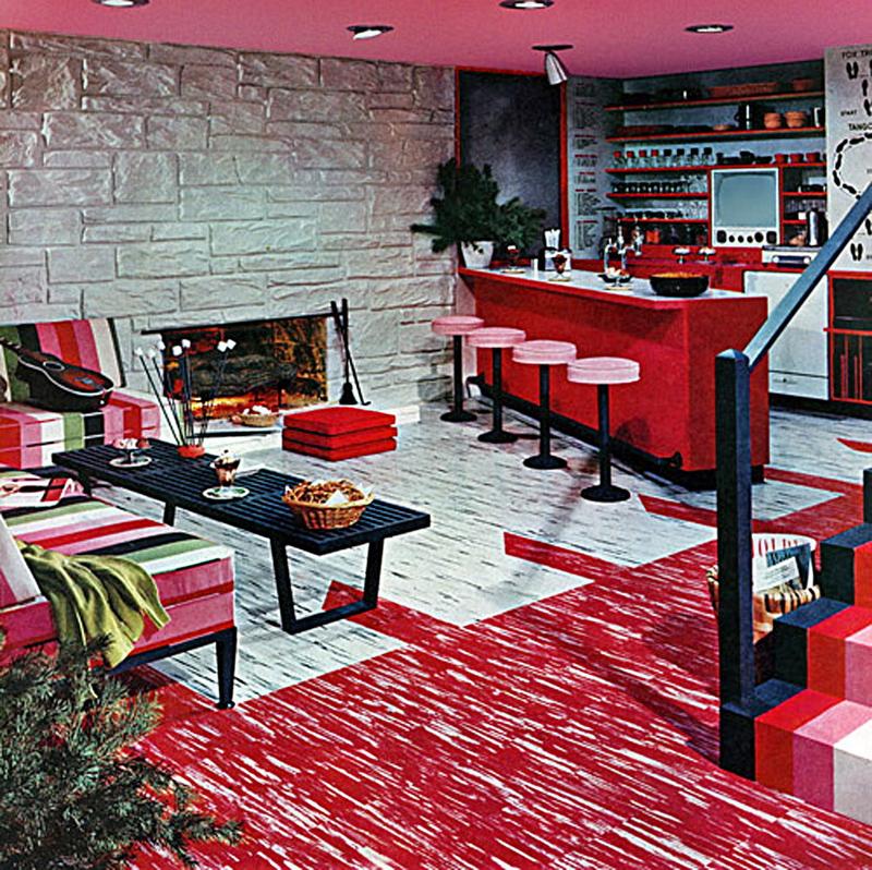 1956-Pink basement
