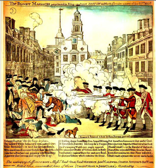 1770-Boston Massacre