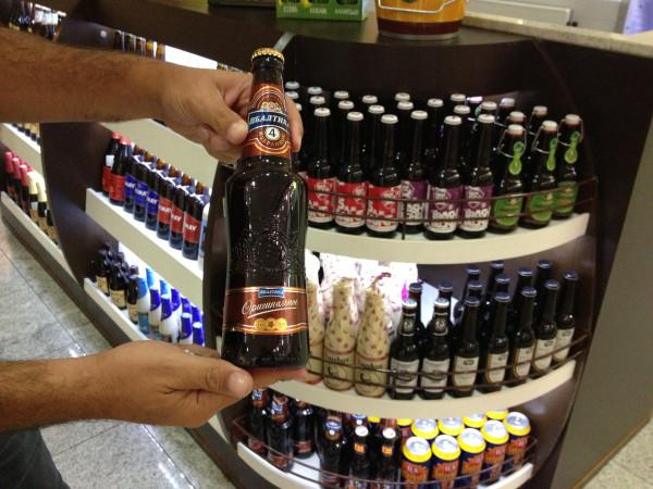 Пиво из России в Бразилии