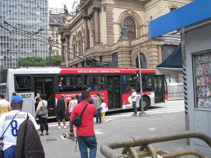 Тролейбус в Бразилии