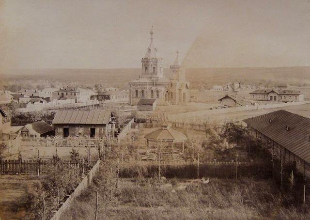 Днепродзержинск-Каменское-ДМКД-вид нагорной части села