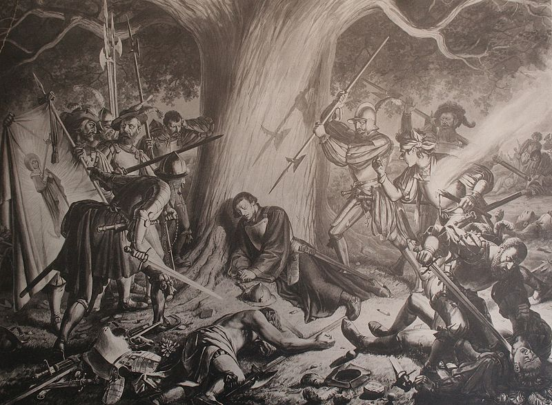 Карл Яуслинг убийство Цвингли