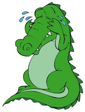 крокодильи слезы