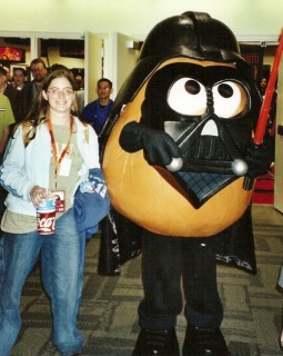 Me and Darth Tater