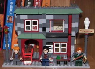 Lego Hogsmeade train station