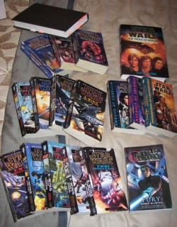 A few of my favorite Star Wars books
