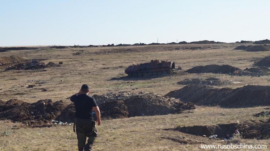 Уничтоженные позиции армии укропов2