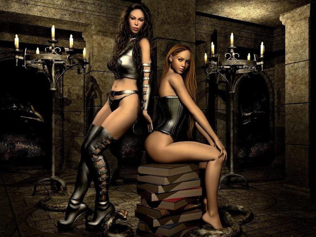 Бал Континента. Экзотические наряды fantasy_girls_1586