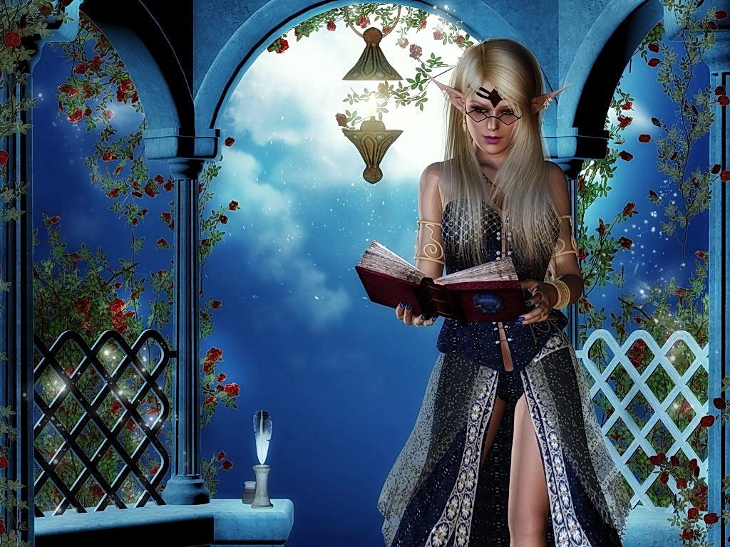 Бал Континента. Экзотические наряды fantasy_girls_2487