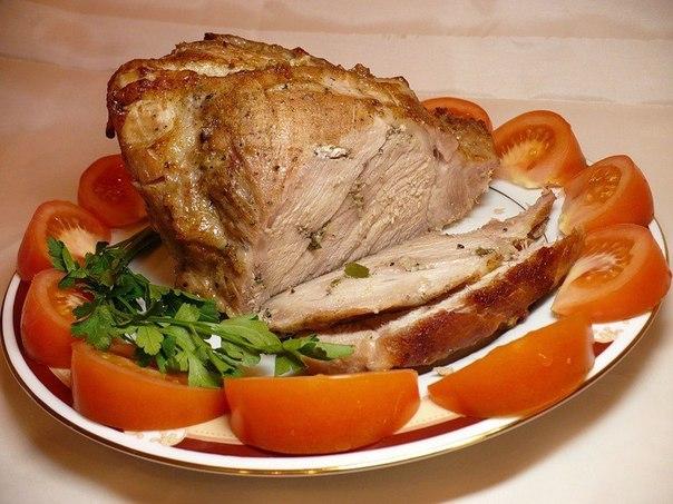 буженина свинины духовке фото рецепт