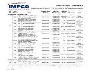 Certificate Summary 8_6_2009
