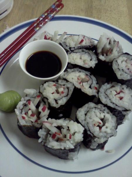 Radish Sushi