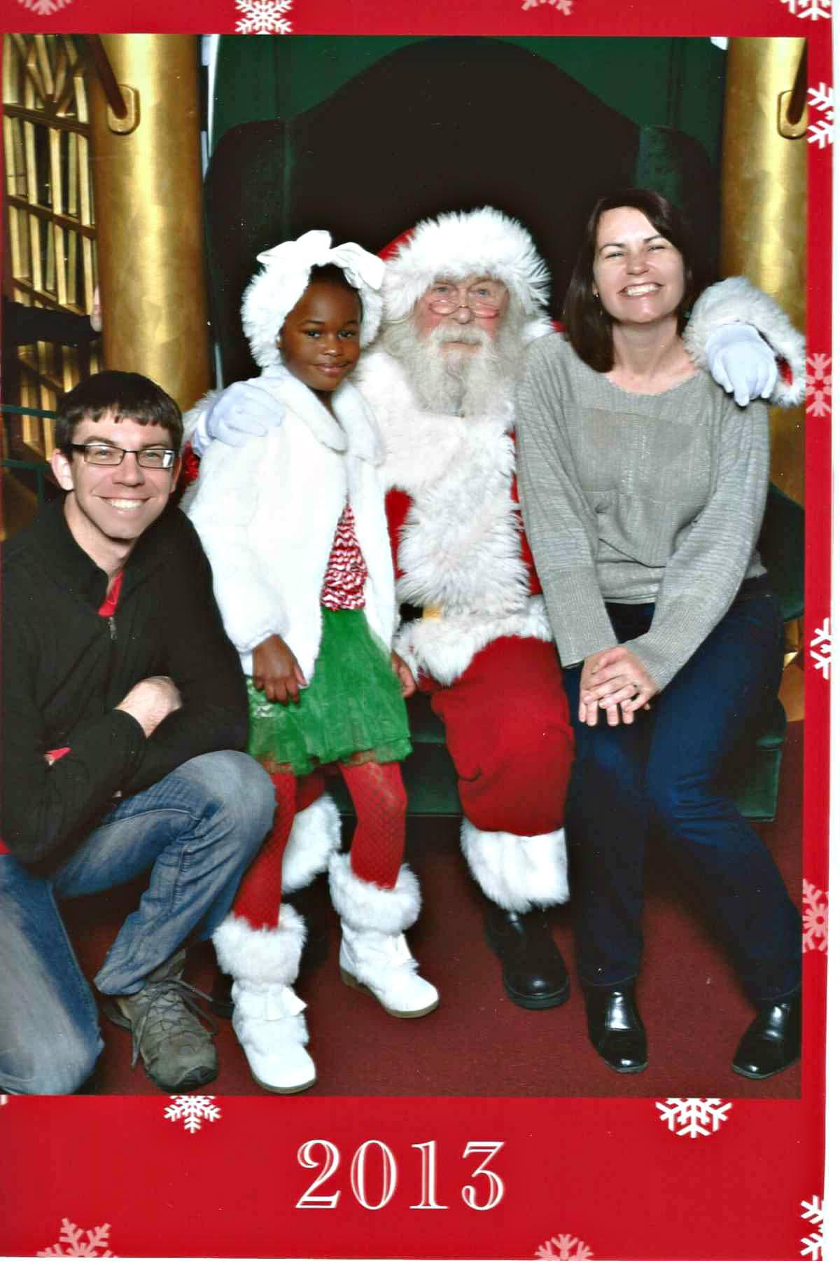 Visit to Santa 2013