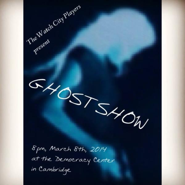 ghostshow poster