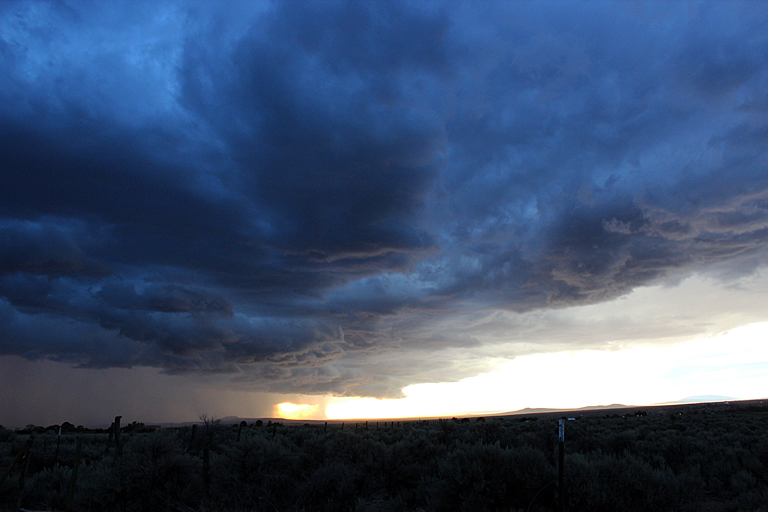 NM sunset rain 3