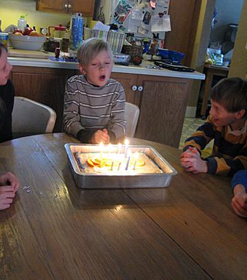 Owen is eight