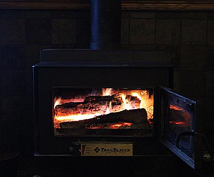 Jan 13 wood stove