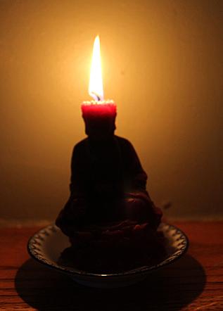Feb 19 Buddha on fire