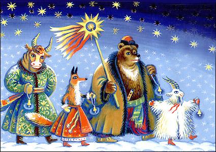 Рождественский дидух установили в центре Львова - Цензор.НЕТ 4064