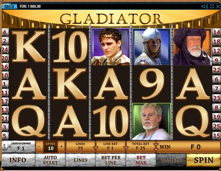 Gladiator онлайн
