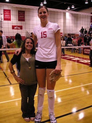 Ну очень высокие девчёнки фото