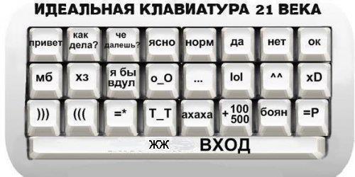 Клавиатура для ЖЖ
