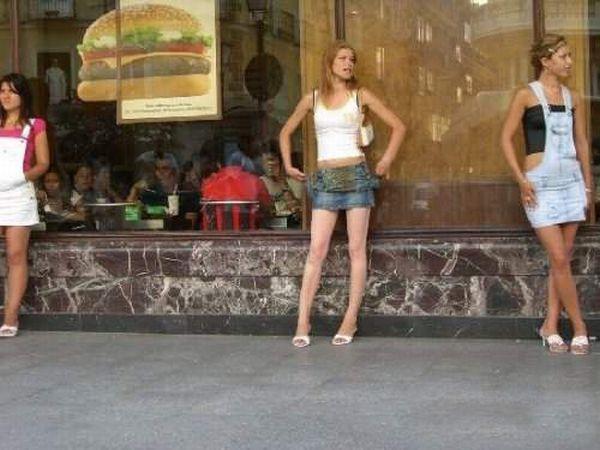 Барселона уличные проститутки