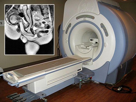 Секс в на томографе