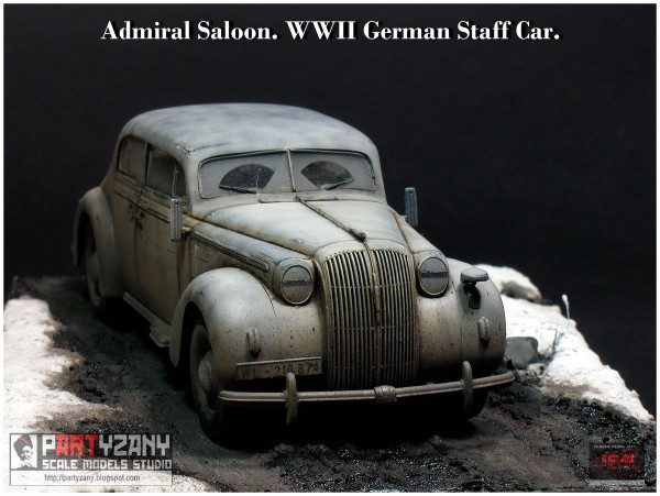 Admiral Saloon, WWII German Staff Car (24)