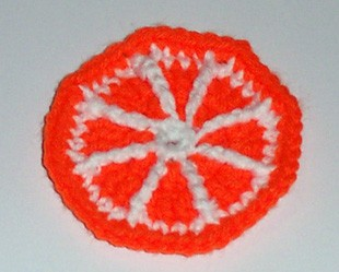 Orange Slice Coaster