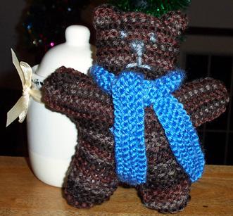 Dad's Christmas Bear