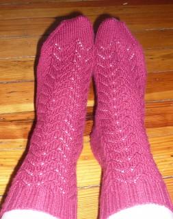 Mom's lace socks