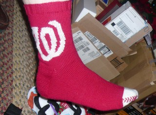 Dad's Nationals socks