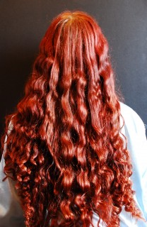 Snake Waves Bandana Curls Phoebe Buffay Britishbraider