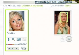 Paris Hilton looks like Mother Theresa? O RLY??! Here, Mother Hilton only matches 60% with herself. Hmm.
