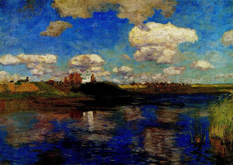 Исаак Левитан. Озеро. Русь.