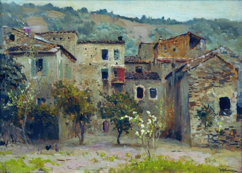 Исаак Левитан. На севере Италии.