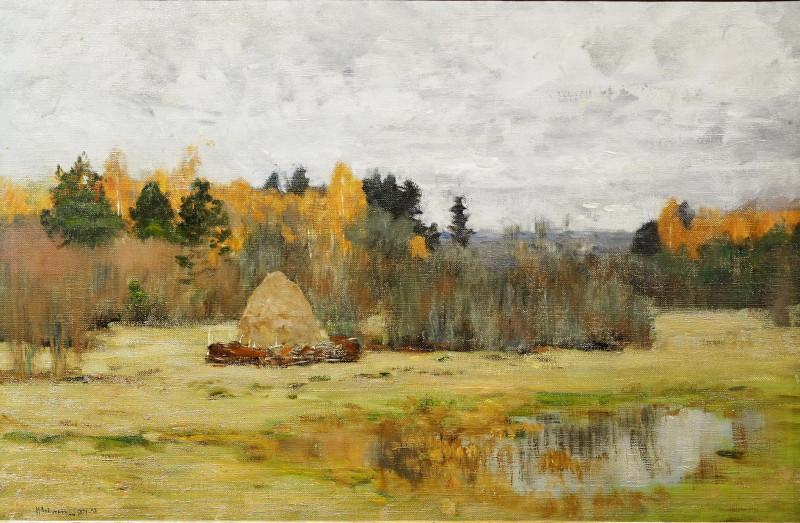 Исаак Левитан. Пейзаж.