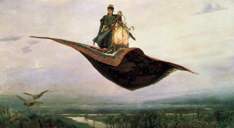 Виктор Васнецов Ковер-самолет.