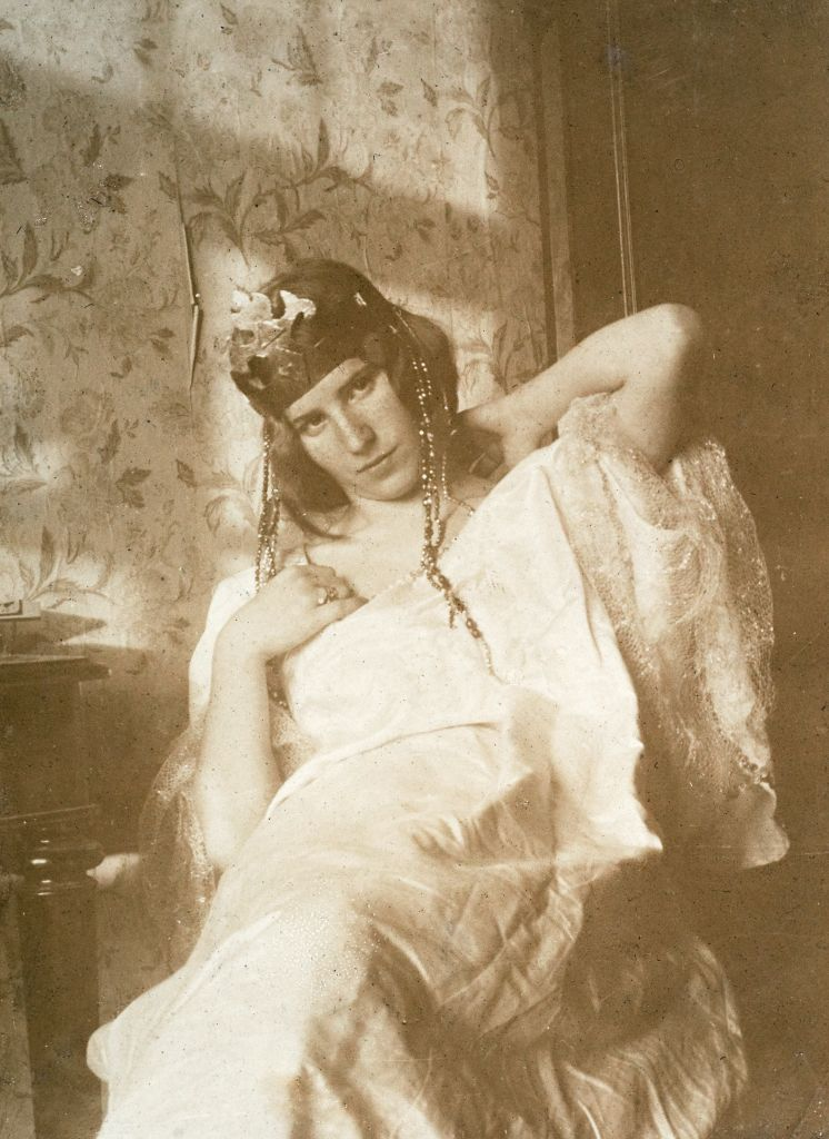 О.И.Шведе.  Ок. 1910г